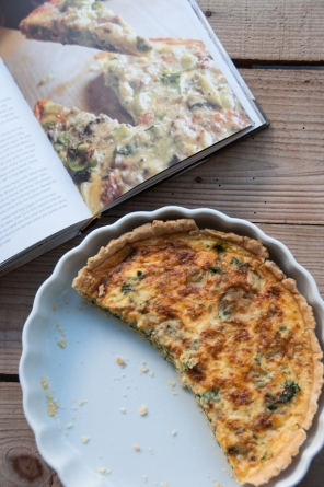 Chard and Silton tart