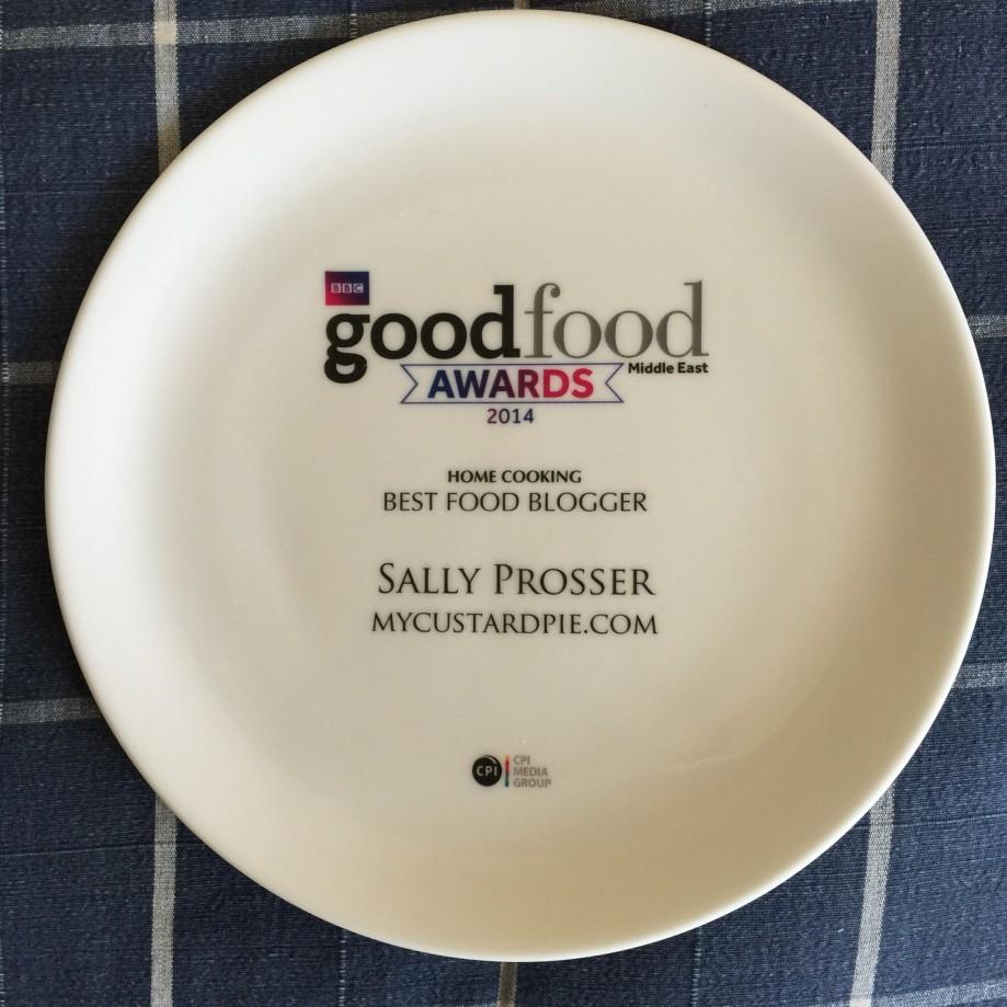 BBC Good Food Award ME food blogger