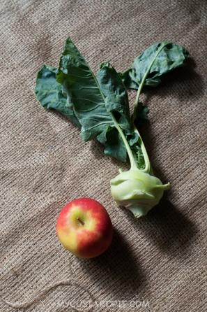 kohlrabi ploughmans salad - mycustardpie