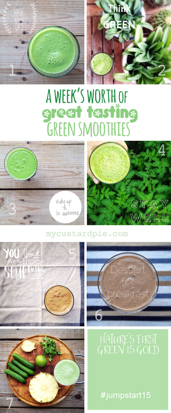 Taste great green smoothies