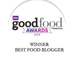 BBC Good Food Middle East Food Blogger winner