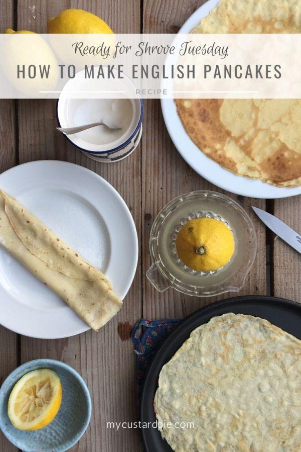 pancakes and lemon