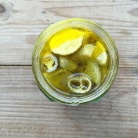 Lemon and chilli pickle - mycustardpie.com
