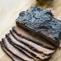 How to cook Texas-style brisket on a gas barbecue
