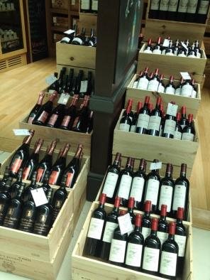 Wine at Le Clos in Dubai airport