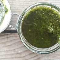 Pesto - In my kitchen in May - mycustardpie.com