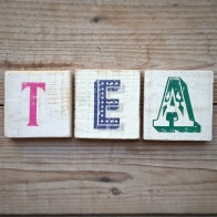 Tea coasters - In my kitchen in May - mycustardpie.com