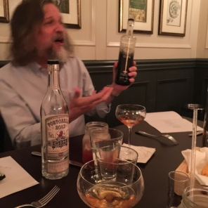 Jared Brown. Pairing gin with dinner - mycustardpie.com