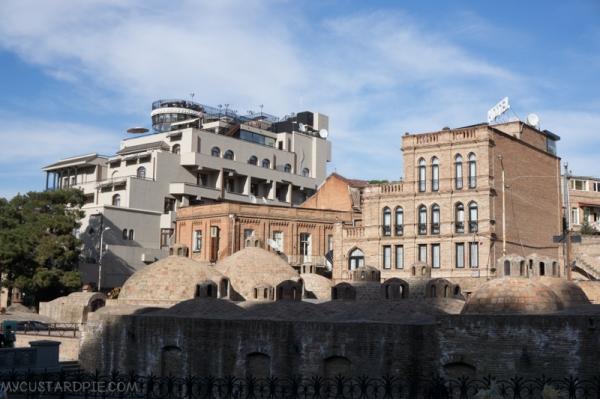 Tbilisi Sulphur Baths Georgia -mycustardpie.com