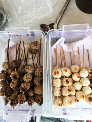 Meat and fish balls