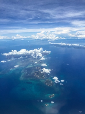 Flying over Cebu in the Philippines - find out more on mycustardpie.com