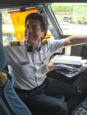 Meeting the pilot. Cebu Pacific - a low-cost airline to the Philippines - find out more on mycustardpie.com