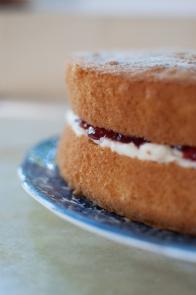 M-in-law's Victoria sandwich cake