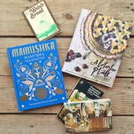 New and vintage cook books in my kitchen - mycustardpie.com