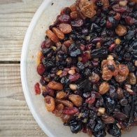 Christmas pudding fruit- mycustardpie.com