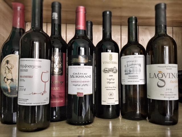 Georgian wines - mycustardpie.com