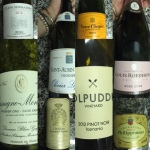 Some wines from the night before on My CustardPie