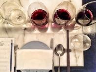 Hakkasan wine tasting panel - My Custard Pie