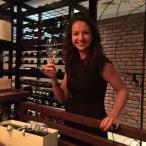 Sommelier Sophia at Boca wine dinner - My Custard Pie
