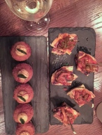 Boca wine dinner - My Custard Pie