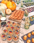 Breakfast spread at The Change Initiative - My Custard Pie