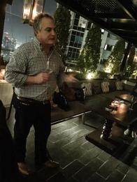Steve Webber of De Bortoli at Taj Towers - My Custard Pie