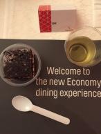 Qantas economy food at JW Marriot - My Custard Pie