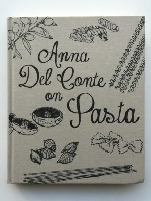 Anna Del Conte of Pasta - A review of all the cookbooks that made it onto my shelves in 2015 on mycustardpie.com
