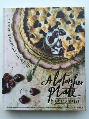 A lot on her plate - Cookbooks 2015 on mycustardpie