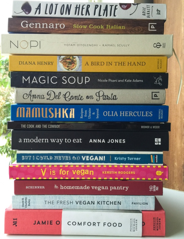 Review of Cookbooks 2015 on mycustardpie