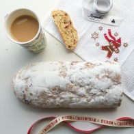 Festive stollen for charity - In My Kitchen December on mycustardpie