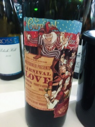 Molly Dooker fruit bomb - Australia Day fine wine tasting - read more on My Custard Pie