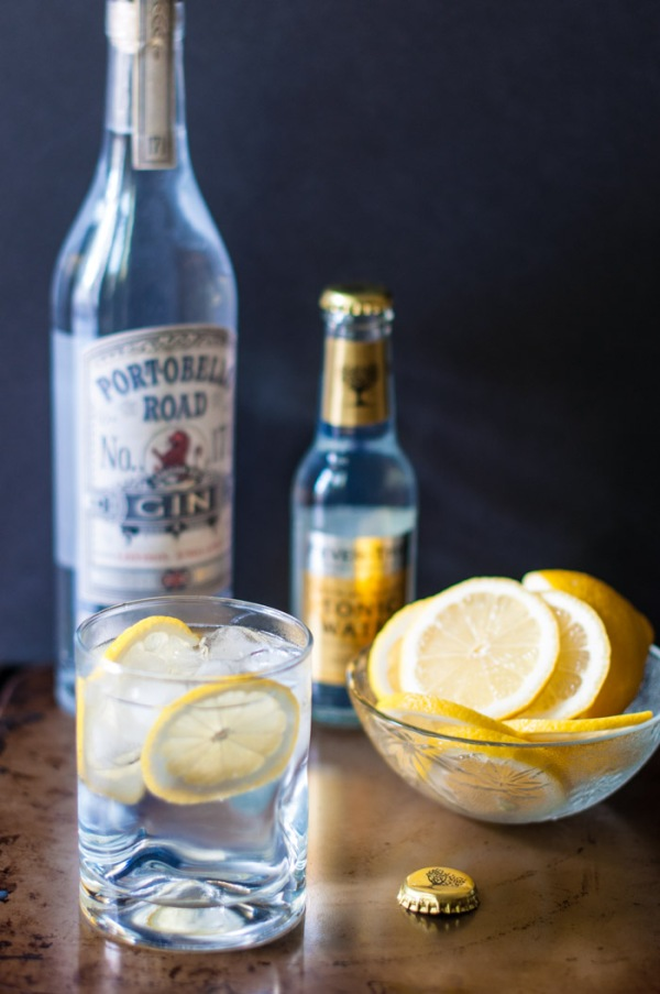 How to make the perfect gin and tonic on mycustardpie.com