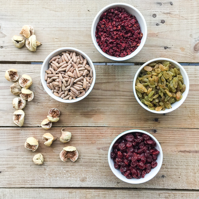 barberries, dried cherries, dried figs and some tangy green sultanas. Iranian goodies from Mr Reza's shop in Dubai. Iranian goodies In my kitchen on mycustardpie