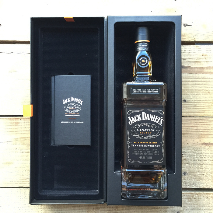 KP won this playing golf! Sinatra special edition of Jack Daniels. In my kitchen on mycustardpie