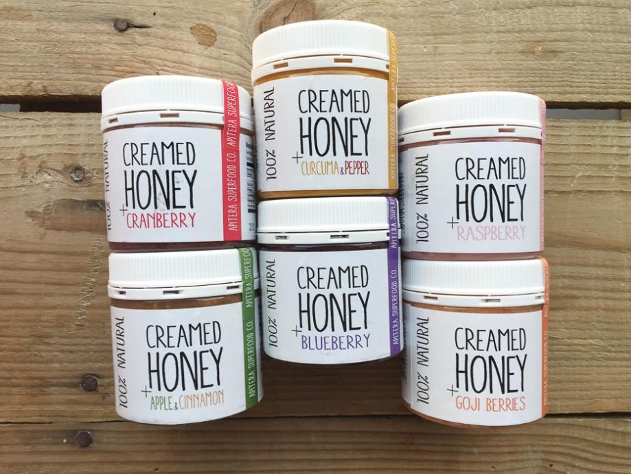 Creamed honey with added ingredients In my kitchen on mycustardpie