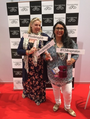 Debbie and Ishita of Food E Mag at the BBC Good Food show who have helped to make 2015 a more interesting place
