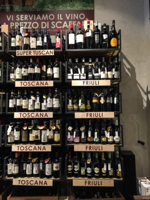 Buying wine in Milan on mycustardpie.com