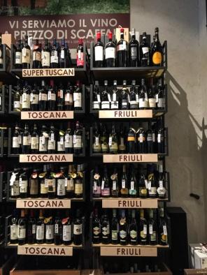 Buying wine in Milan on mycustardpie.com