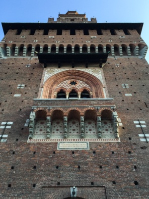 Castello Sforzesco – Sforza Castle in Milan on mycustardpie.com