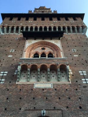 Castello Sforzesco – Sforza Castle in Milan on mycustardpie.com