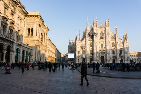 The duomo Milan Italy - mycustardpie.com
