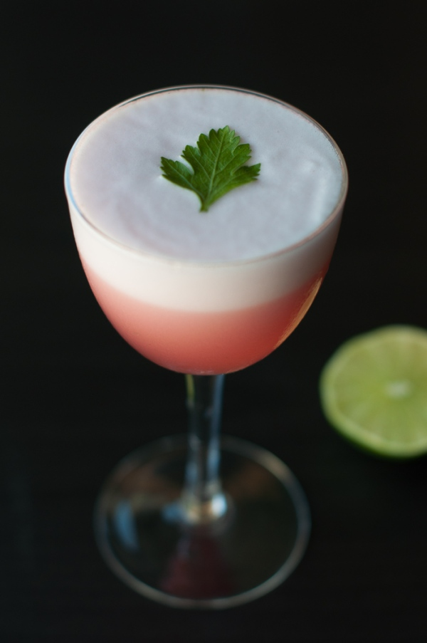 How to make a Sir Frances Drake Gimlet on mycustardpie.com