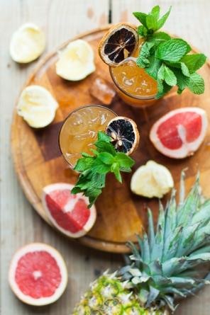 How to make a Sloe Sling cocktail over on mycustardpie.com