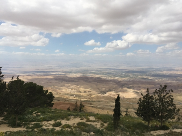 View from Mount Nebo. Visit Jordan on a family holiday - mycustardpie.com