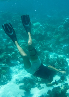 Lisa the marine biologist. Going to the Maldives-on mycustardpie.com