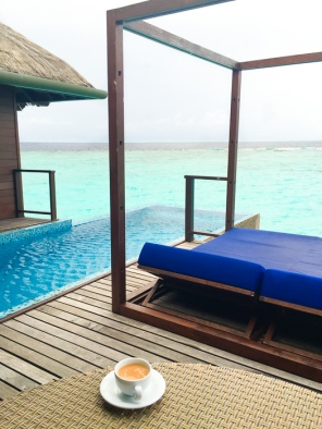 Private deck. Going to the Maldives-on mycustardpie.com
