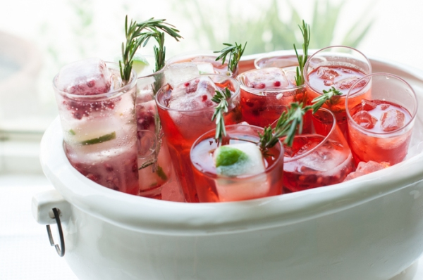 Good for a party or just sipping solo. Bookmark for long hot summer days or when you are dreaming of summer. Pomegranate Cointreau fizz on mycustardpie.com