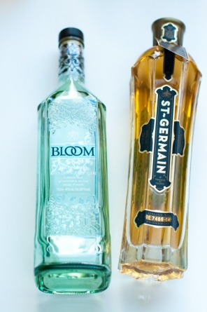 Bloom gin and St Germain. How to make a Country Garden Bitter Sorbet cocktail on mycustardpie.com