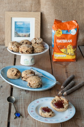 Vegan oatbran scones recipe on mycustardpie